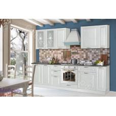 Кухня Гурман 3 - Белая/Перламутр тангенс. 9 модулей