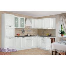 Кухня Гурман 3 - Белая/Перламутр тангенс. 12 модулей