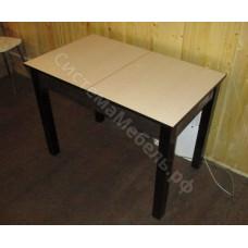 Кухонный стол обеденный нераскладной ЛДСП - Венге/Беленый дуб