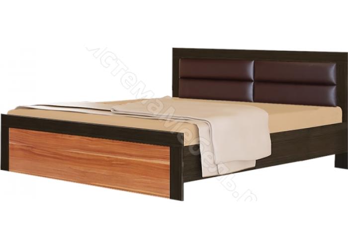 Спальня модульная Токио - Кровать N2 - 1,6. Слива