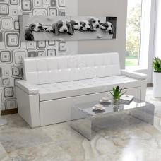 """Кухонный диван """"Секрет 4"""" со спальным местом - Капро эко крем"""