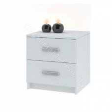Модульная система Лофт - Комод 420 с 2-мя ящиками Белый