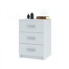Модульная система Лофт - Комод 420 с 3-мя ящиками Белый