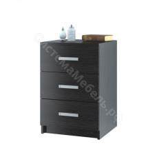 Модульная система Лофт - Комод 420 с 3-мя ящиками Венге