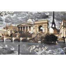 Велюр Париж серый