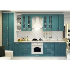 Кухня Элегант - Базилик матовый. 11 модулей