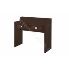 Спальня Мона - Туалетный столик - Венге/Крокодил коричневый