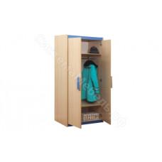 Детская Лайф - Дуб Линдберг/Голубой - Шкаф для одежды