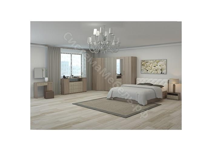 Модульная спальня Сильва - Ясень шимо светлый/Ясень шимо темный. До 13 модулей
