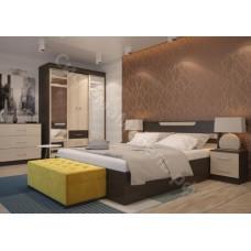 Cпальня Юнона - Венге/Дуб Белфорд. 5 модулей. Набор N2