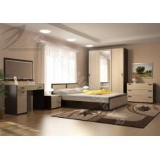 Модульная спальня Венеция - Венге/Дуб Сонома светлая. До 7 модулей
