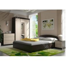 Спальня Рио 2 - Венге/Белфорд. 3 модуля
