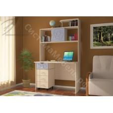 Стол компьютерный Лик 4 - Дуб молочный