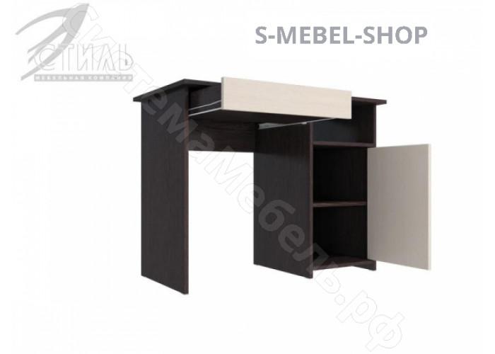 Стол компьютерный Лик 5 - Венге/Дуб молочный