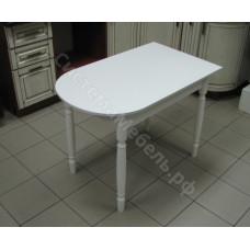 Стол пристенный раскладной ЛДСП - Белый