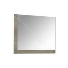 Спальня Бергамо - Зеркало. Дуб Сонома/Белый глянец