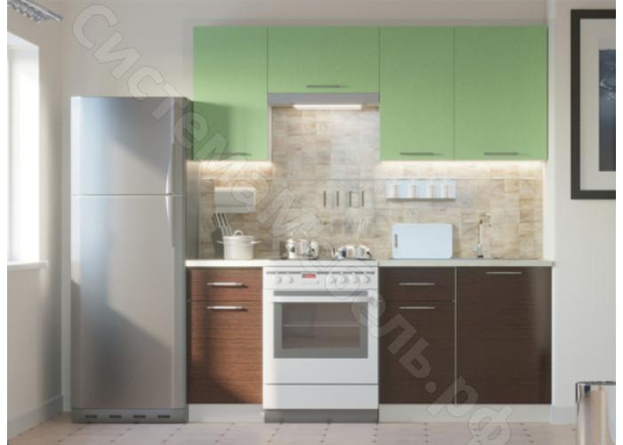 Кухня Одри 190 МДФ - Дуб Кремона/Венге - 7 модулей