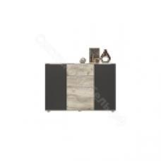 Спальня Венеция - Комод. Дуб серый Крафт/серый Графит