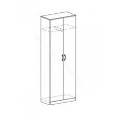 Гостиная модульная Макарена ЛДСП - Шкаф со штангой. Венге/Дуб белфорд