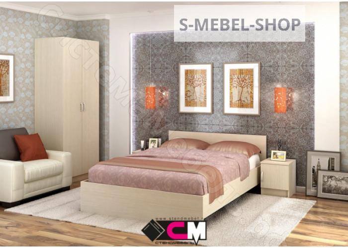 Модульная спальня Бася - Венге/Дуб белфорд. До 23 модулей