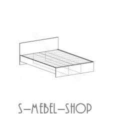 Спальня Бася - Кровать 800. Венге/Дуб белфорд