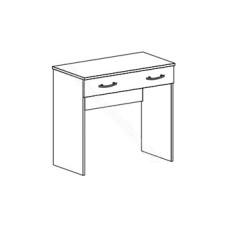 Спальня Бася - Столик макияжный без зеркала. Венге/Дуб белфорд
