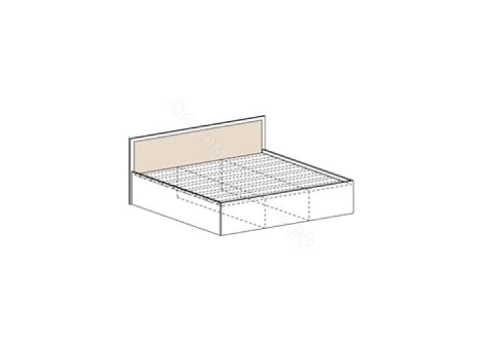 Спальня Барселона - Кровать 1600. Дуб белфорд