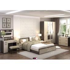 Модульная спальня Элегия - Венге/Дуб белфорд. До 9 модулей