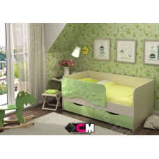 Детская кровать Алиса 1800 - Белфорт/Зеленый