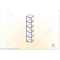 Гостиная модульная Глория - Угол. Венге/Дуб белфорд