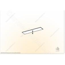 Гостиная модульная Глория - Карниз 1. Венге/Дуб белфорд