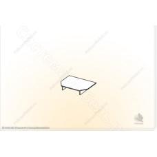 Гостиная Магнолия - Подставка под ТВ. Венге/Дуб белфорд