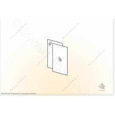 Гостиная Премьера - Зеркала в шкаф со стеклом - 2 шт.