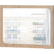 Детская Скай - Зеркало N11. Белый глянец/Дуб бунратти