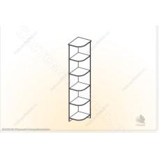 Модульная прихожая Ника - Угол. Венге/Дуб белфорд