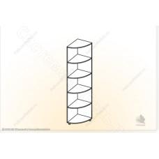 Детская модульная Мозаика - Угол. Дуб Сонома