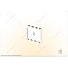 Модульная спальня Сорренто - Зеркало. Ясень шимо темный/светлый