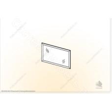 Модульная спальня Симона М -  Зеркало. Ясень шимо темный/Дуб белфорд