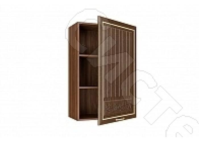 Шкаф-антресоль ША-60 (920) Гурман-2 - Орех Пегасо/Эко дуб темный