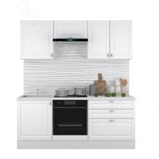 Кухня Ева 2.0 МДФ - Белый Софт