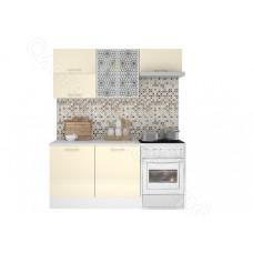 Кухня Люкс 1,8 МДФ глянец - Ваниль