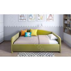 Кровать Уно - Зеленый велюр