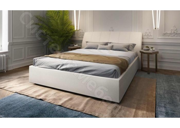 Кровать Орхидея - Бежевый велюр