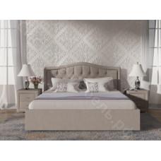 Кровать Анкона - Бежевый велюр