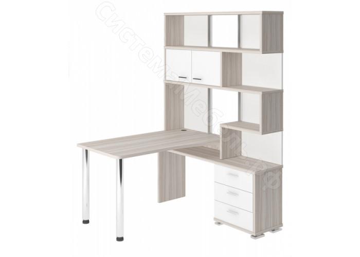 Компьютерный стол СР-420-130 - Карамель/Венге
