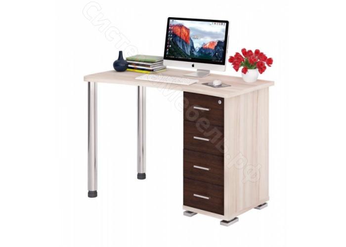 Компьютерный стол СКМ-50 - Карамель/Венге