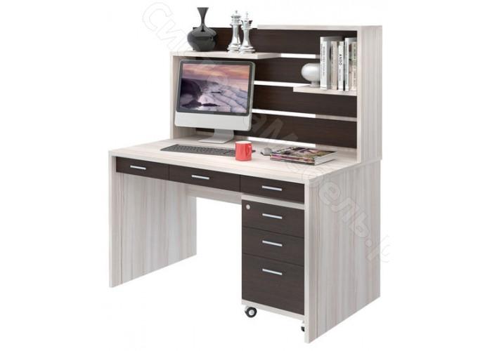 Компьютерный стол СП-82 - Карамель/Венге