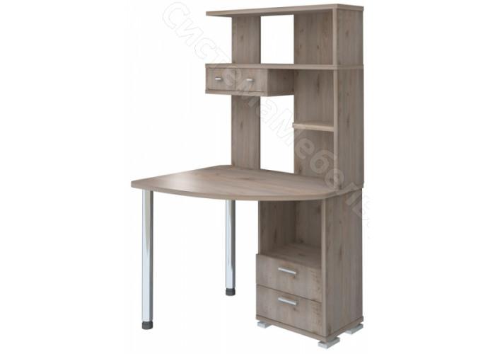 Компьютерный стол СК-20 - Нельсон/Белый жемчуг