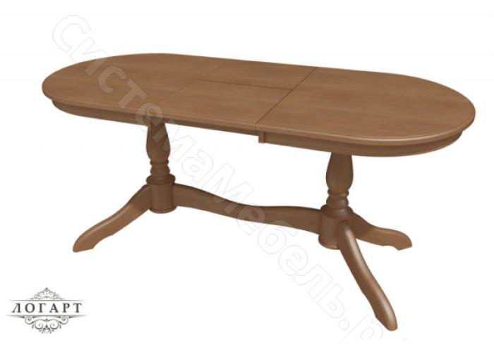 Стол обеденный раскладной Романс-21 из натурального дерева