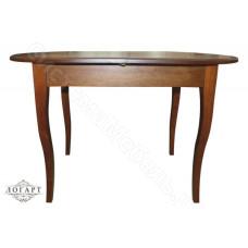 Стол обеденный раскладной Лемур из натурального дерева